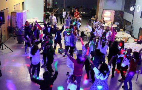 "Freshmen ""Glow Up"" at Dance"