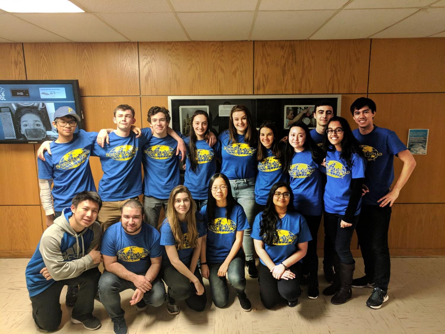 PMHS Science Olympiad competitors savor the excitement of competition.