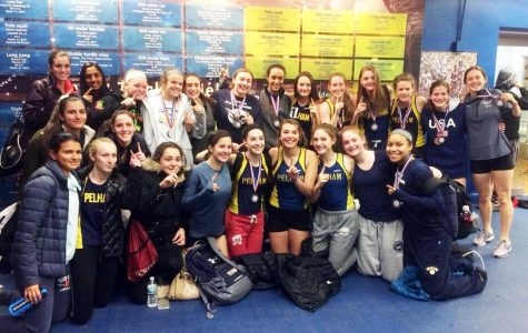 Girls Track Team Wins League Title for First Time Since 1996