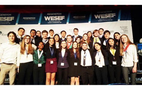 Pelham Science Research Team Members Recognized at WESEF