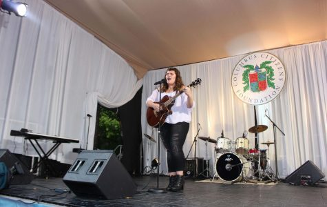 Sophomore Performs at Columbus Day Parade