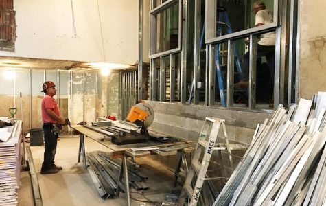 Boys' & Girls' Locker Room Renovation Stretches On