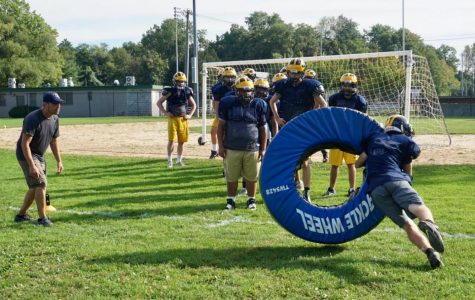 Putting Safety First, Pelham Football Practices Without Live Tackling