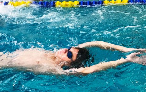 Boys Swim Team Competes in first Section I Championships in their First Season