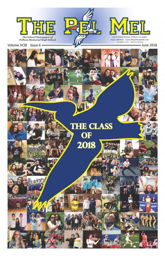 In our front cover photo montage, The Pel Mel looks back on some of the memorable moments and friendships of the Class of '18.