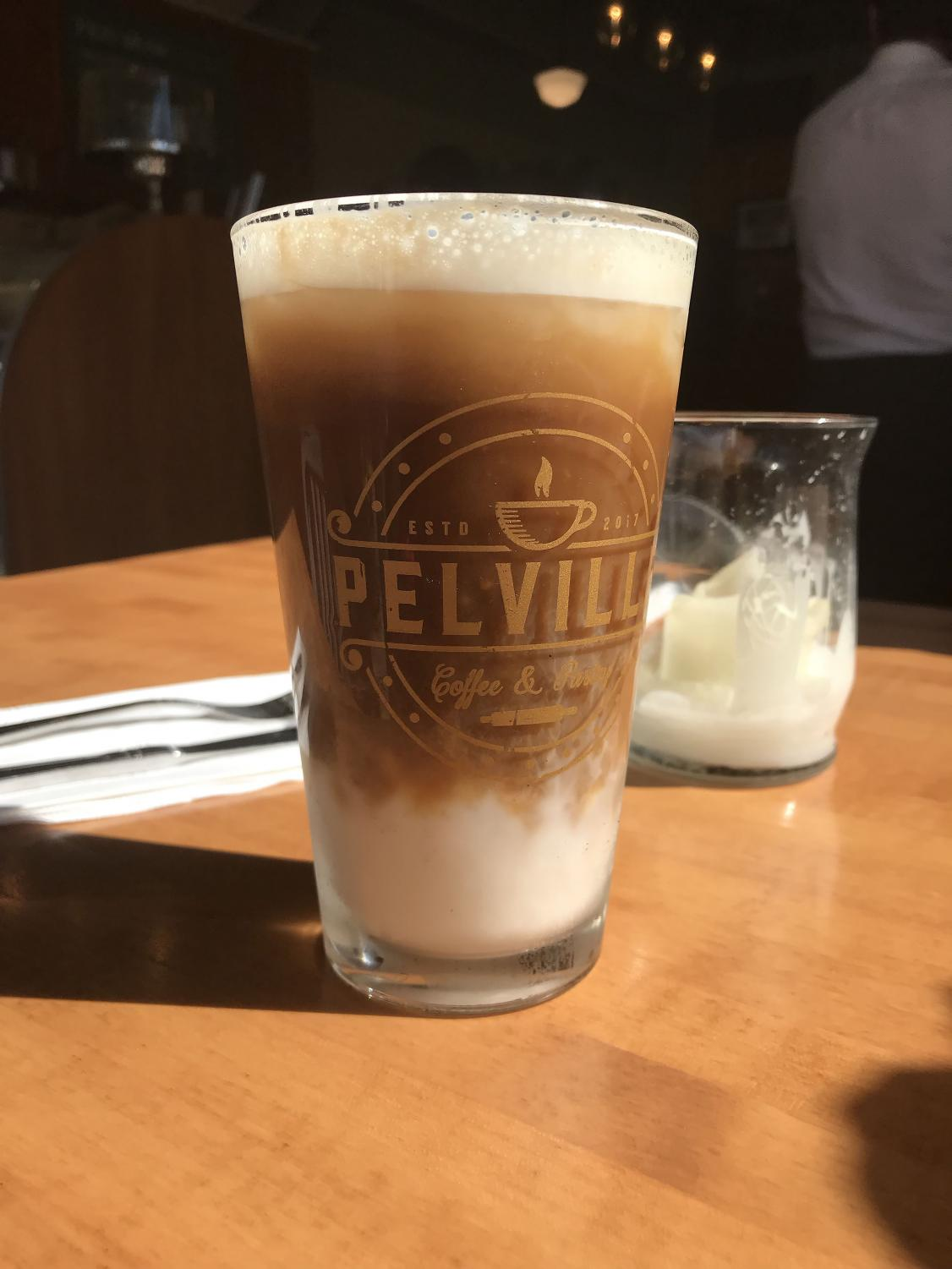 Pelville is the community's newest coffee hub.