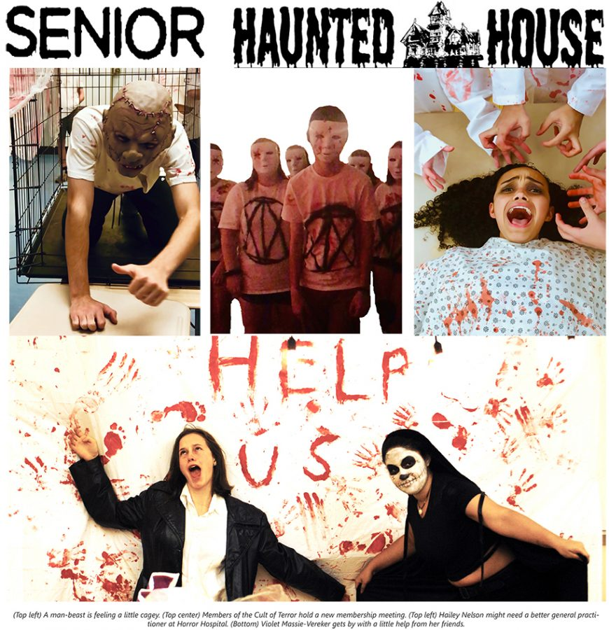 Senior Haunted House Snapshots