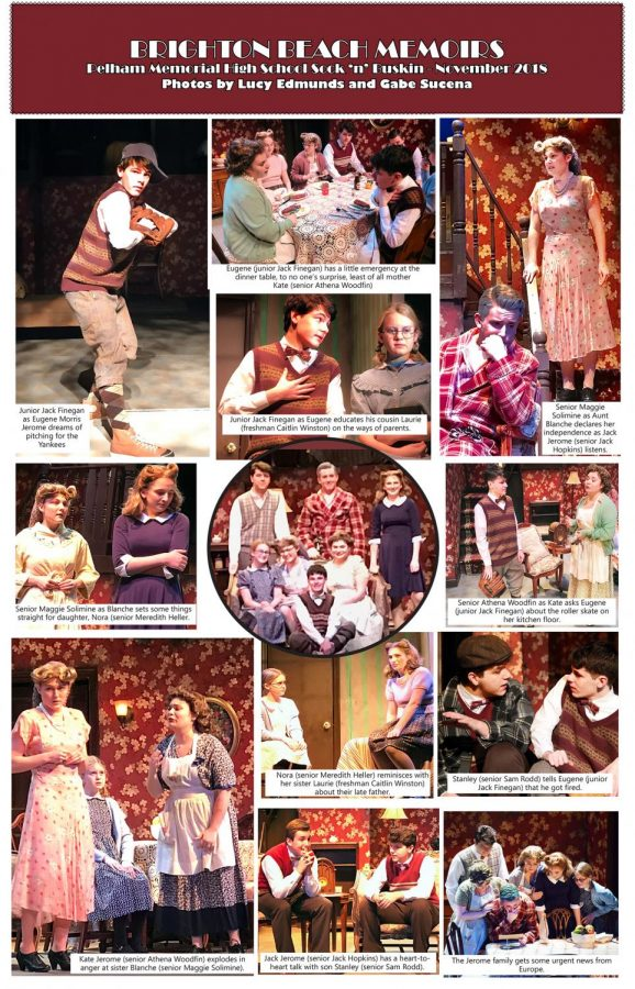 Photo Highlights of SnB's BRIGHTON BEACH MEMOIRS