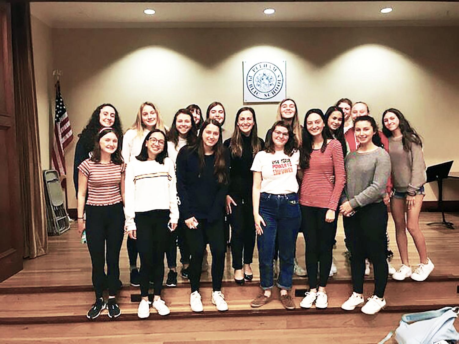 Pelham's Women's Empowerment club invited senator-elect Alessandra Biaggi to speak to the group just two weeks before the election.