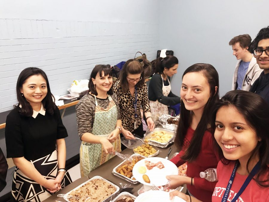 Foreign Language Clubs Host  International Dinner