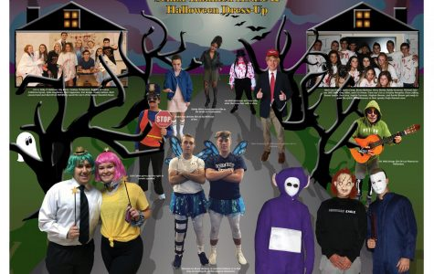 November Centerfold – Senior Haunted House / Halloween Dress-Up