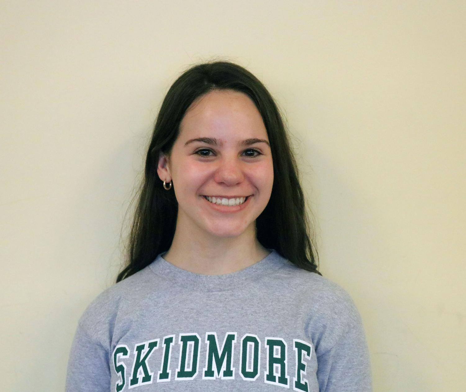 Senior Ally Palmisciano is riding her way to Skidmore College.