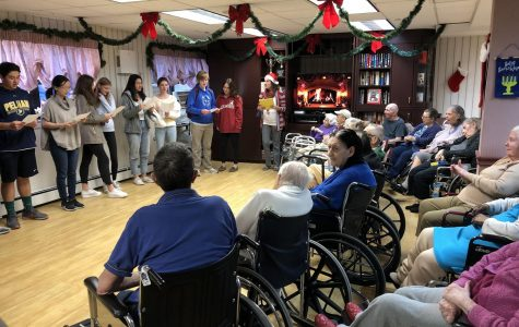 Foreign Language Clubs Carol for Nursing Home Residents