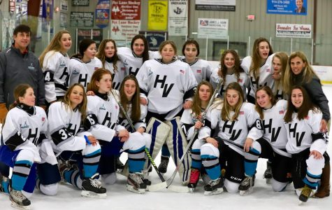 Girls Ice Hockey Defeats Rockland 7-5 in Premiere Outing