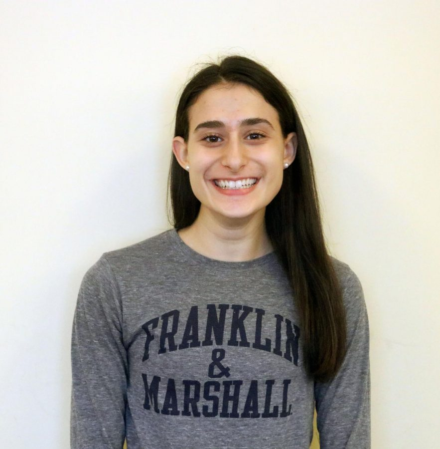 Senior Grace Miske will have a four year run at Franklin and Marshall College.