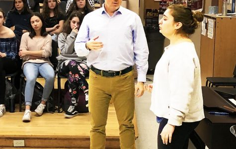 Tenor Matthew Polenzani Teaches  Master Class to PMHS Chorus