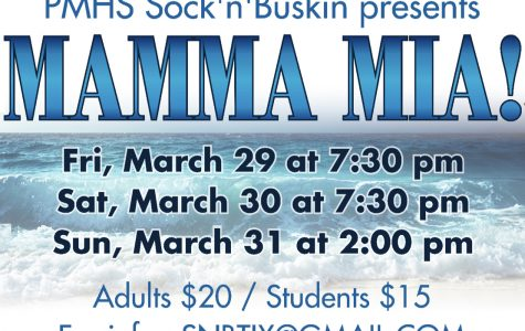 MAMMA MIA takes the stage March 29-31