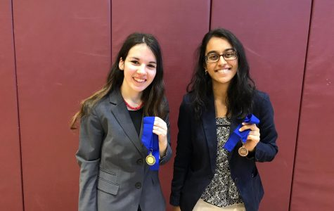 Four Compete at  National History Day  Regional Competition; Meyerson Goes to States