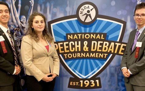 Blackburn Semifinalist at National Speech & Debate Championship