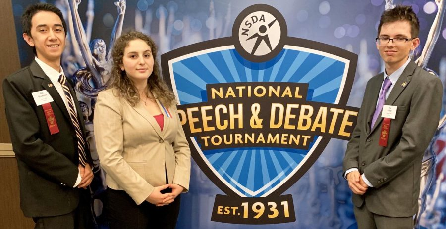 %28l+to+r%29+Sophomores+Isaac+Blackburn+and+Rebecca+Jacobson%2C+and+junior+Nick+Lieggi+faced+off+against+some+of+the+best+speakers+in+the+nation+at+the+NSDA+National+Championship+in+Dallas.
