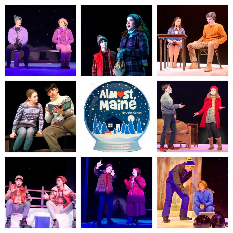 ALMOST, MAINE – A PHOTO MONTAGE OF THE SCHOOL PLAY