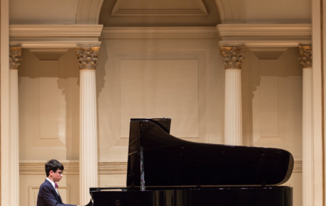Dylan Giglio earned  the honor of playing piano at Carnegie Hall.