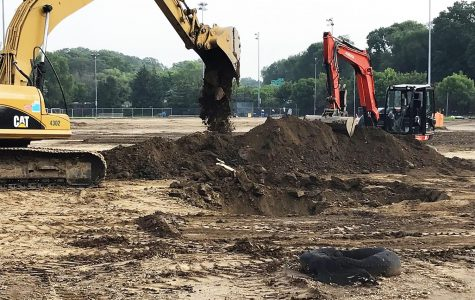Construction at Glover Field Continues