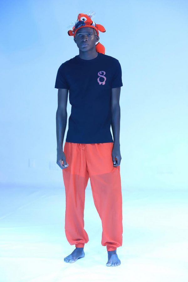 Corso's DripEight fashion line was featured on the runway at New York Fashion Week.