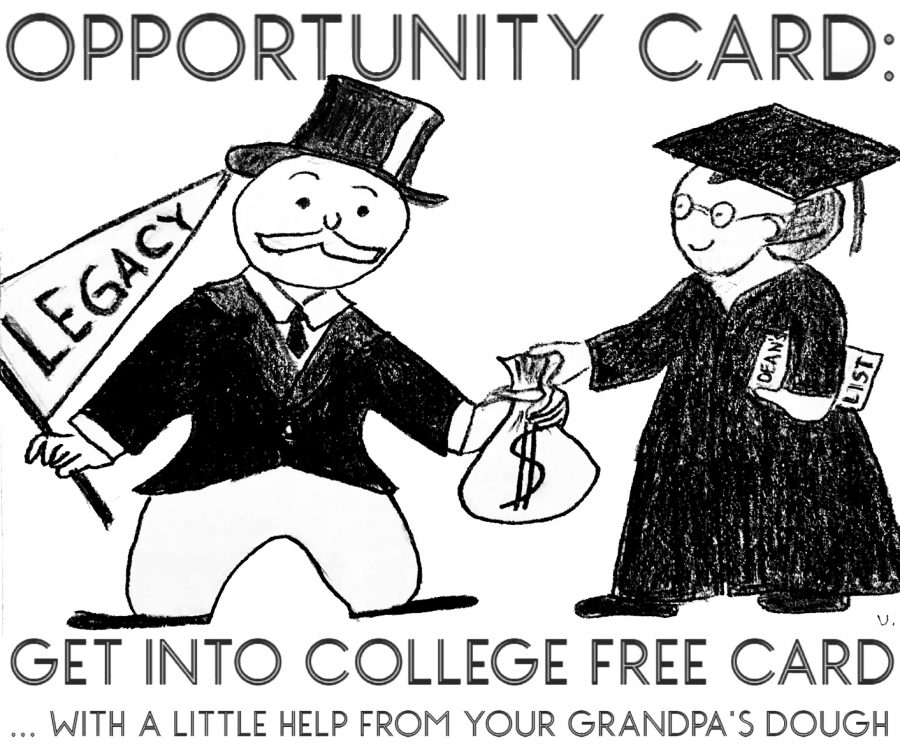 POINT/COUNTERPOINT: Should Legacies in Colleges Become a Thing of the Past?