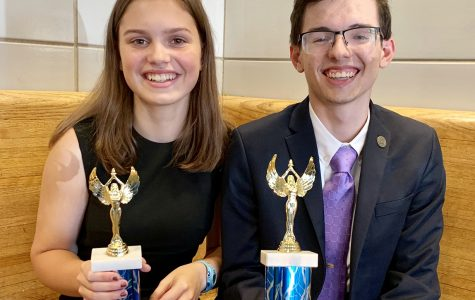 Pair of PMHS Public Speakers Place at  Opening Tournament