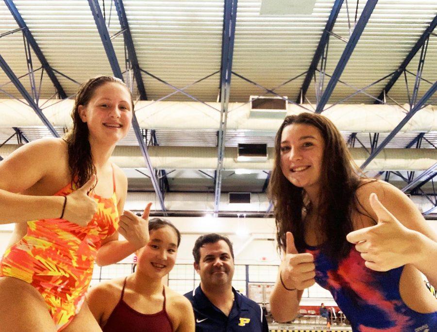 Pelham Girls Varsity Swim and Dive Team Sends Athletes to Sectionals