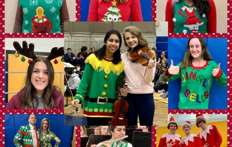 The faces and Fashions of the Winter Assembly!