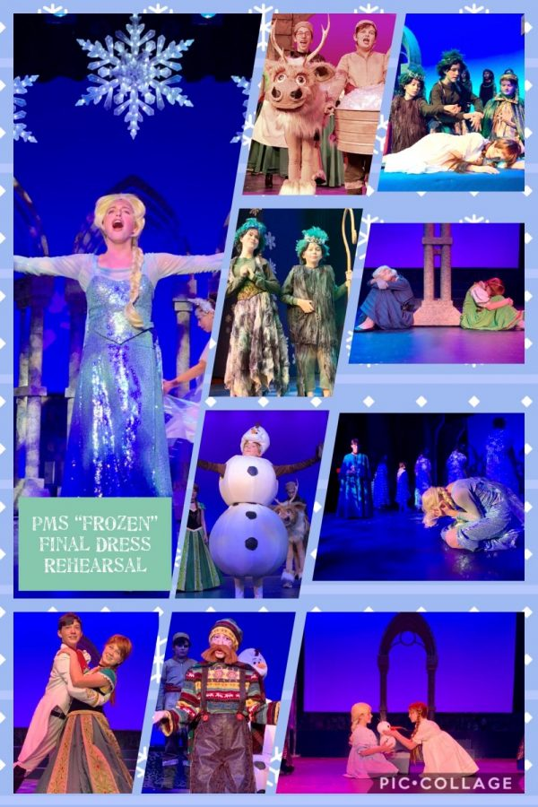 Pelham Middle School actors are ready to warm your hearts with FROZEN Jr.