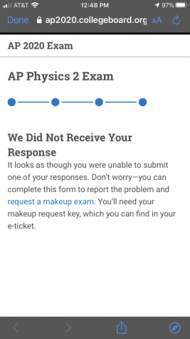 Online Advanced Placement Tests Don