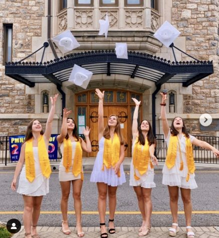 Hats off to new graduates Elizabeth Comerford, Grayce Cooper, Juliana Cortale,, Megan Orlando, Ellianna Bryan, and Charlotte Howards.