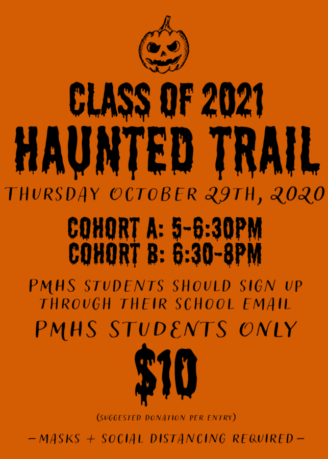 Senior Haunted Trail Replaces Haunted House