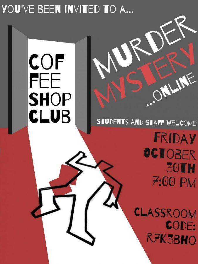 Coffee Shop Club to Host Virtual Murder Mystery