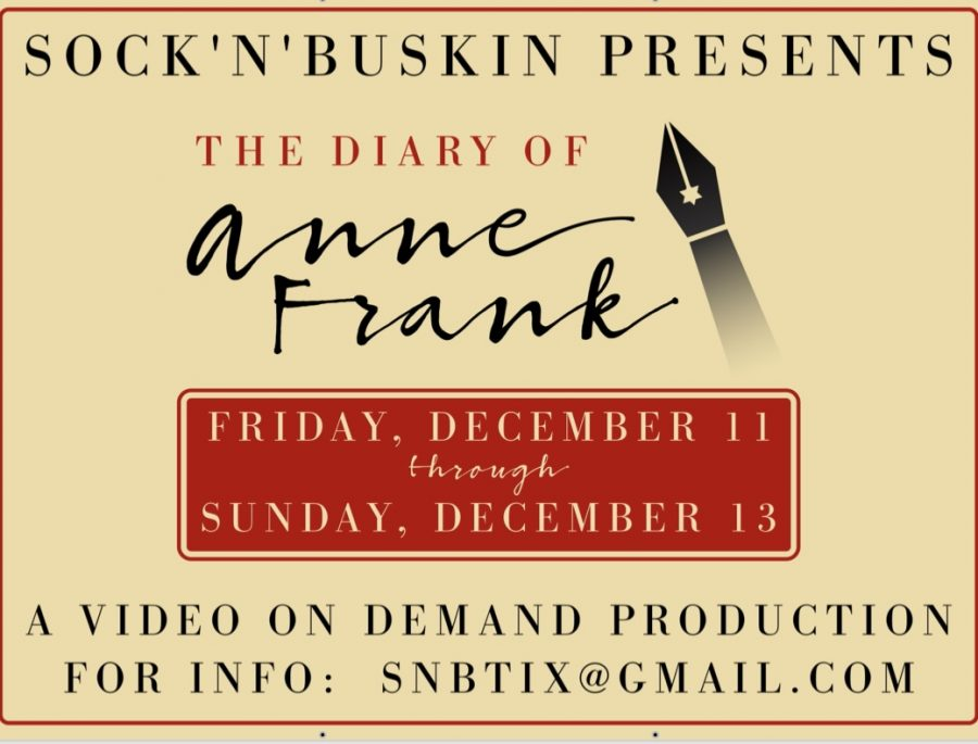 Sock 'n' Buskin Preview: The Diary of Anne Frank