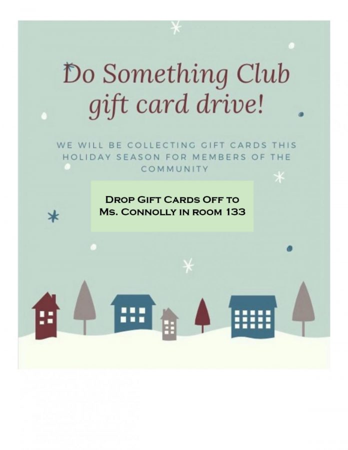 Do Something Club Holiday Gift Card Drive