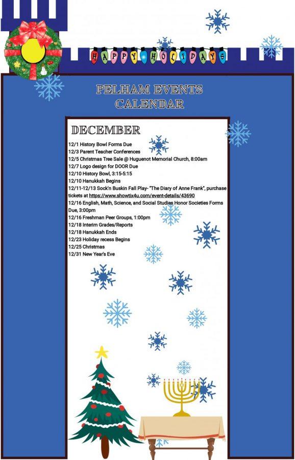 December Events Calendar