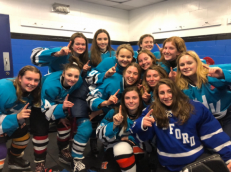 2019 PMHS Varsity Girls Hockey, one of the many who have had their season disrupted.