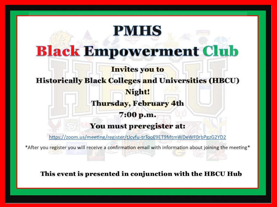 Black Empowerment Club Hosts Meeting of Historically Black Colleges & Universities (HBCU)