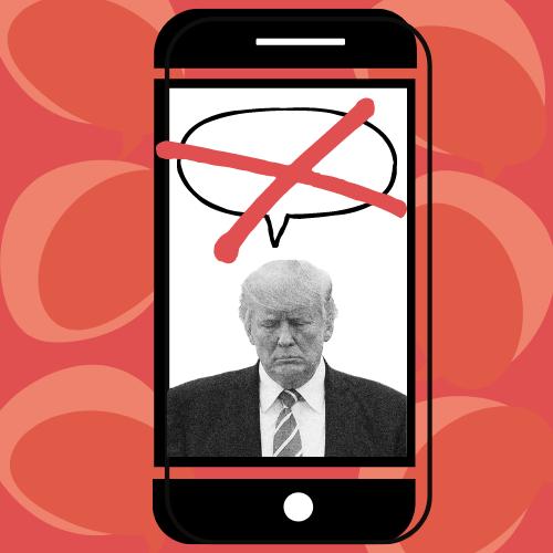 Trump Banned on Social Media