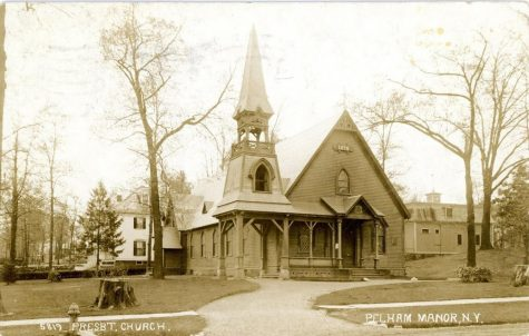 Huguenot Church circa 1911-- Courtesy of the Historic Pelham Blog