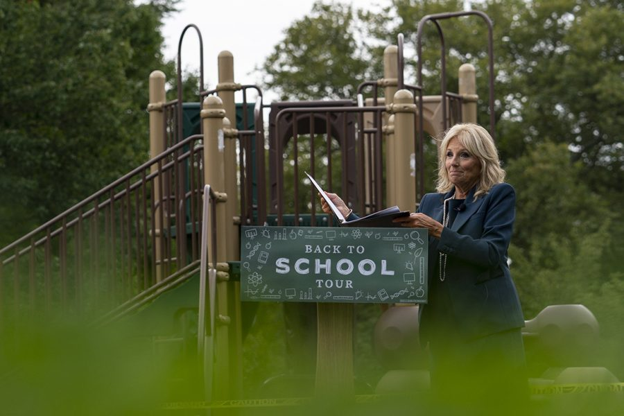 Dr. Jill Biden, a professor beloved by her students, will continue teaching full time.