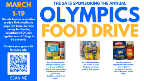 SA Holds Olympics Food Drive