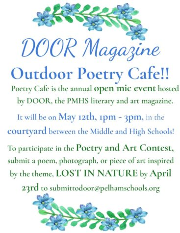 DOOR Magazine to Host Annual Poetry Café