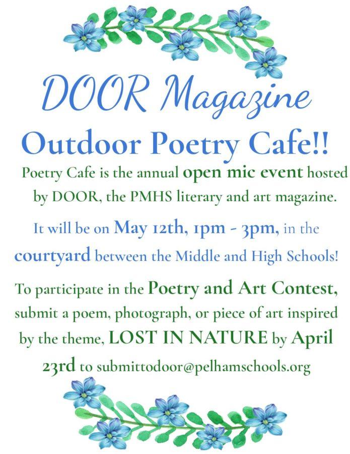 DOOR Magazine to Host Annual Poetry Café