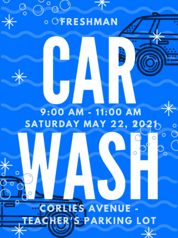 9th Graders Hope to Clean-Up with Freshman Carwash 2021