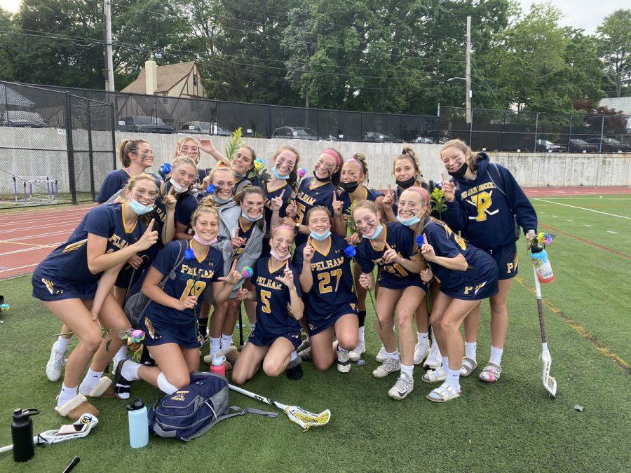 Girls Lacrosse Wins League Championship Title